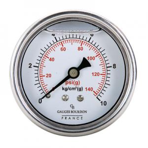 VianPool (Tiếng Việt) Đồng hồ áp suất chân sau 63mm - GB - Pháp