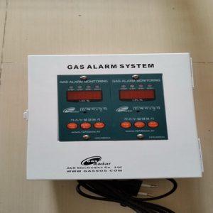 VianPool (Tiếng Việt) Tủ điều khiển 2 đầu dò gas phòng nổ (ACE - Korea)