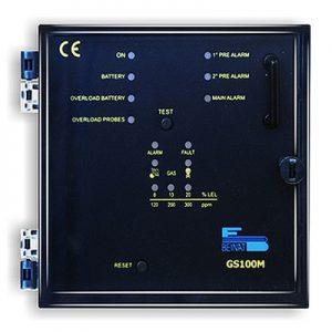 VianPool (Tiếng Việt) Tủ điều khiển 1 đầu dò gas phòng nổ (BeiNat - Ý)