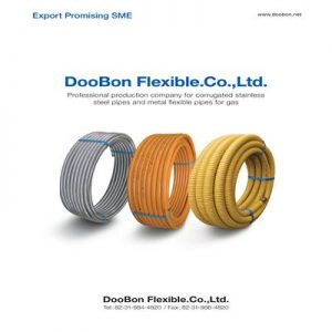 (Tiếng Việt) Ống dẫn gas Inox bọc nhựa - Boodon - Korea