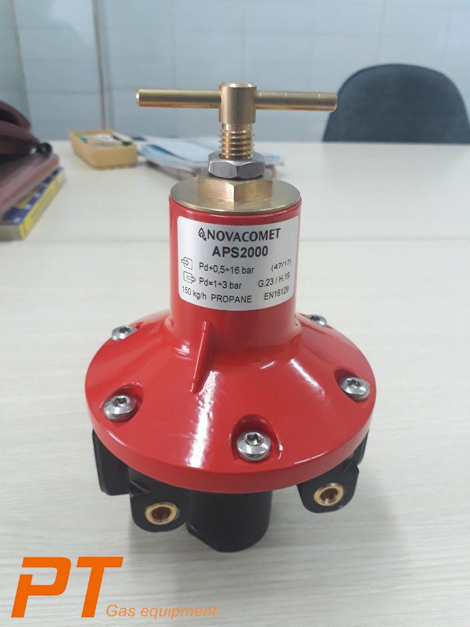 VianPool (Tiếng Việt) Công ty cung cấp các loại van điều áp/ Van giảm áp khí gas LPG NOVACOMET