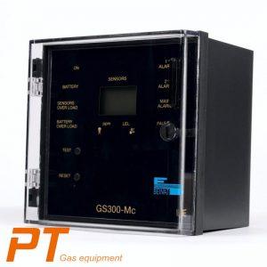 (Tiếng Việt) Tủ điều khiển 3 đầu dò gas chống nổ GS-300Mc - BeiNat - Ý