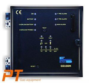 (Tiếng Việt) Tủ điều khiển 1 đầu dò gas chống nổ GS-100M - BeiNat - Ý