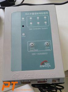 (Tiếng Việt) Tủ điều khiển 4 - 6 đầu dò gas dân dụng GRC-1525 - ACE - Hàn Quốc
