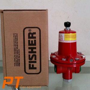 Van giảm áp cấp 1(105kg/h), 64/222 - Fisher - Mỹ