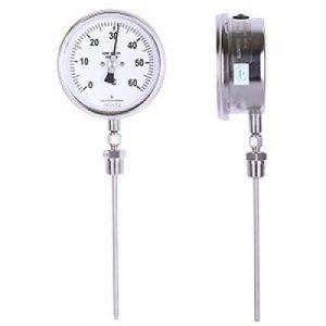 (Tiếng Việt) Đồng hồ đo nhiệt độ mặt 100 mm, chân đứng - GB Pháp