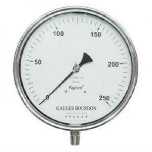 (Tiếng Việt) Đồng hồ áp suất mặt 250mm - GB Pháp